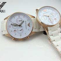 01 1 Pc 100% Original Armani Watch Rose Gold Sports Lovers Couple Watch Wristwat Photo