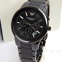 01 2 Pc Original Armani Quartz Watch Analog Watches Wrist Watch Water Resistance Photo