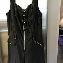 0192541018689 Nwt Guess Jet Black Romper Size 2 Photo