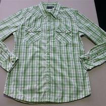 024 Mens Hurley Sage Check L/s Shirt Sze Lrg Ex-Cond 80 Rrp.  Photo
