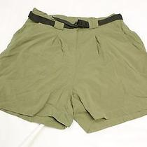 06'the North Face Olive Green Dbl Seat Gusset Crotch Climbing Shorts Wmns 14 Euc Photo