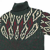 1155 Italy Maison Martin Margiela 10 Abstract-Bolts Chunky Heavy Sweater Large Photo