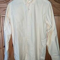 1 Menswear Brooks Brothers Made in Usa Yellow Oxford Ocbd Dress Shirt 15.5 / 35 Photo