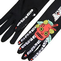 1 Pair of Gloves Elastic Halloween Elements Performance Gloves for Performance Photo