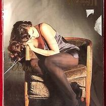 1 Pair Wolford Velvet De Luxe Tights Pantyhose Admiral Large 50 Denier Photo