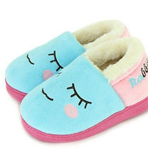 1 Pc Plush Slipper Roxy Sandal Warm Soft Shoes Shy Face 4 Colors L201402201 Photo