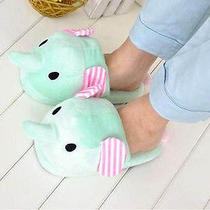 1 Pc San-X Sentimental Circus Plush Slipper Roxy Mint Elephant L201402202 Photo