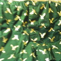 1 Pr American Eagle Green W//shimery Shiny Gold Eagles Cotton  Boxer Mens Sz S Photo