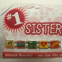 1 Sister Stretch Bracelet New Photo