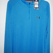 1-Ua Nwt Mens Iso-Chill Element 1/4 Zip Mens Fishing Long Sleeve Photo