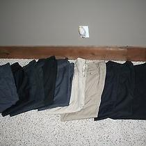 10 Pair of Nice Name Brand Suit Style Dress Pants. Dkny Claiborne Haggar Etc. Photo