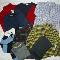 10 Pc Mixed Lot Gymboree Old Navy Gap Crazy 8 Ralph Lauren Lands End Boys 5/6 Photo