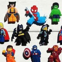 10 Pcs Lego Movie Marvel Minifigures Shoe Charmsdecoration for Crocs Photo