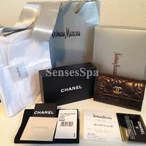 100% Auth Chanel Lambskin Camellia Card Holder  Nib Wallet Credit Cardholder Photo