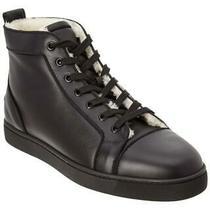 100% Auth New Men Christian Louboutin Merilouis High Top Sneakers Eu 41/us 8 Photo