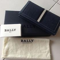 100%  Authentic Bally Mans Wallet Photo