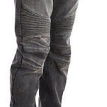 100% Authentic Balmain Biker Jeans sz.33 Black/grey Ribbed Hoodie Sweater Jacket Photo