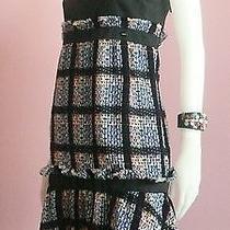 100% Authentic Brand New Chanel Fantasy Tweed Dress Sz 40 Photo