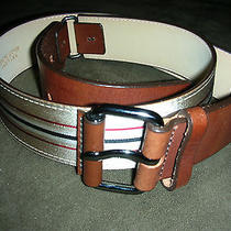 100% Authentic Burberry Belt Size 1 Photo