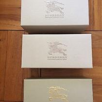 100% Authentic Burberry Box Set of Three With Booklets and Cards Photo