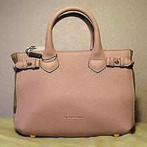 100% Authentic Burberry Small Banner Bag Pink / Nude Blush Brand New With Tags Photo