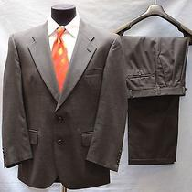 100% Authentic Burberrys Pure Wool Suit Size 40 Photo