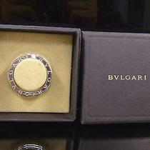 100% Authentic Bvlgari Key Ring Sterling Silver 925 Excellent Condition Photo