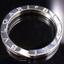 100% Authentic Bvlgari Key Ring Sterling Silver 925 Excellent Condition 191 Photo