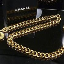 100% Authentic Chanel Popular Chain Belt Coco Charm With Box Photo