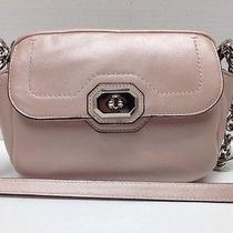 100% Authentic Coach Campbell Turnlock Leather Camera Style Bag 298 F24843 Nwt Photo