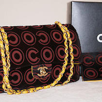 100% Authentic Coco Chanel Yellow M/l Timeless Classic Flap Matte Gold Hardware Photo