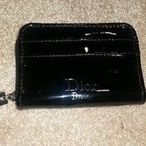 100% Authentic Dior Beauty Coin Card Case Wallet Black Nwot Valentine Gift Photo