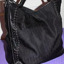 100% Authentic Dior Grommet Leather Nylon Lace Up Heart Bag Purse Photo
