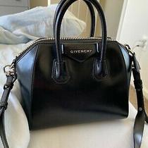 100% Authentic Givenchy Mini Black Antigona Leather Purse Great Condition Photo