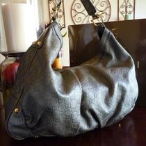 100% Authentic Gucci Guccissima Leather Large Jockey Hobo Bag 203542 Photo