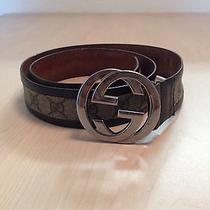100% Authentic Gucci Men Belt  Photo