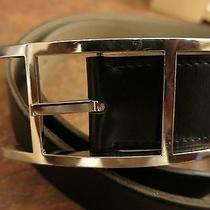 100% Authentic Hermes Belt 90 Reversible Black/beige Perfect Condition 900 Photo