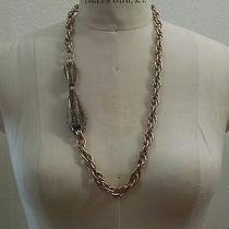 100% Authentic Lanvin Necklace Photo