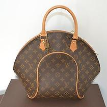 100% Authentic Louis Vuitton Ellipse Mm Comes With Key and Lock Photo