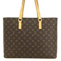 100% Authentic Louis Vuitton Monogram Luco Shoulder Tote Bag /p755 Photo