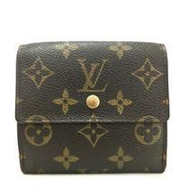 100% Authentic Louis Vuitton Monogram Portefeiulle Elise Trifold Wallet /e566 Photo