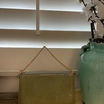 100% Authentic Louis Vuitton Vernis Green/blue Lexington Pouchette / Clutch Photo