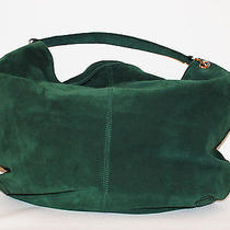 100% Authentic Made in Italy High End Suede Shopper Hobo Bag  Photo