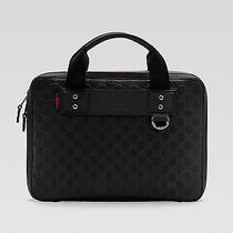 100% Authentic New Gucci Guccissima Techno Messenger Laptop Briefcase Case Bag Photo
