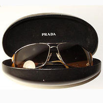 100% Authentic Prada Sunglasses W/ Case Photo