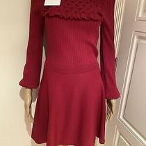 100% Authentic Red Valentino Dress Brand New With Tag Size S  Photo