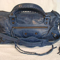 100% Authentic Stunning Balenciaga Blue