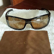 100% Authentic Unisex Gucci  Gg Sunglasses W/ Dust Cloth and Case Photo