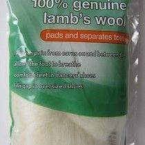 100% Genuine Lambs Wool Padding for Shoes Heels Dancing 3/8 Oz Rite Aid New Photo