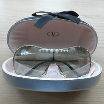 100% Genuine Valentino Sunglasses With Case & Cloth - Used Mint Condition  Photo
